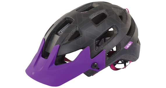 Liv Infinita Helmet black/purple